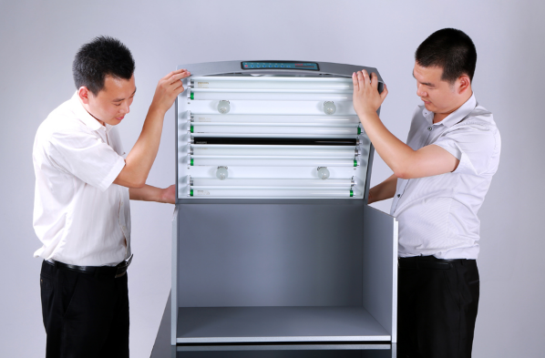 Cách lắp ghép tủ so màu P60
