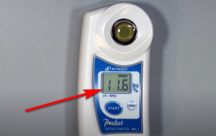 máy đo độ ngọt atago