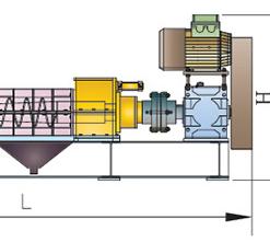 Cấu tạo máy ép bùn trục vít