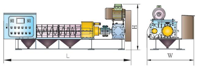 Cấu tạo máy ép bùn trục vít Yuan Chang