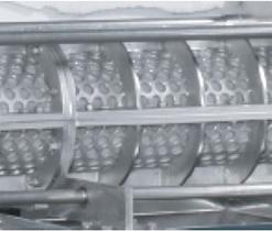 Bộ phận trục vít là thành phần chính trong máy ép bùn