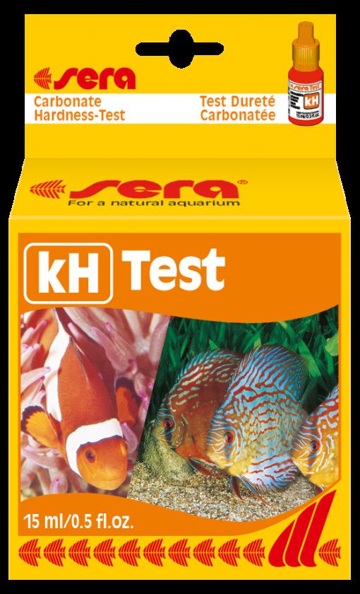 test kh sera giúp kiểm tra nồng độ kH trong nước.