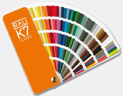 Quạt so màu cầm tay RAL K7