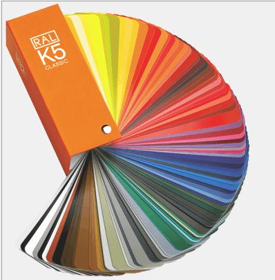 Quạt so màu cầm tay RAL K5