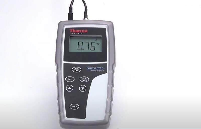 Kết quả đo nồng độ oxy hòa tan