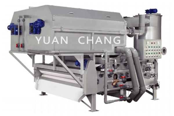 Máy ép bùn băng tải TAH - Yuan Chang