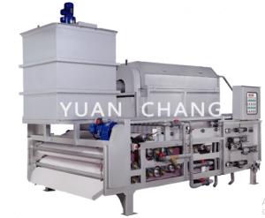 Máy ép bùn băng tải TE - Yuan Chang