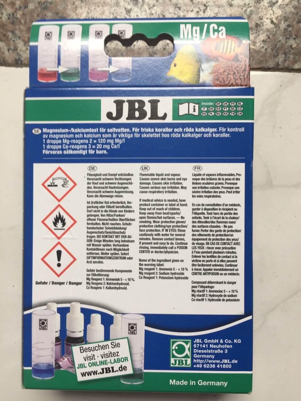 Test Mg/Ca JBL giá rẻ